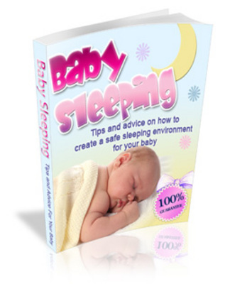 Product picture Baby Sleeping Guide - help your baby sleep through the night