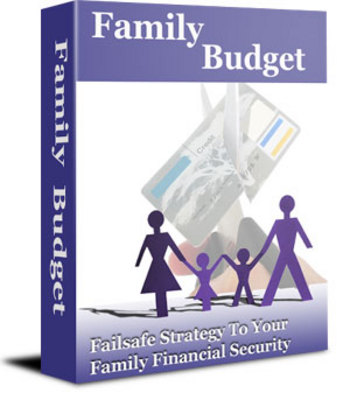 Product picture Family Budget - make a family budget worksheet
